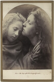 'The Kiss of Peace' (Elizabeth ('Topsy') Keown; Mary Ann Hillier), by Julia Margaret Cameron - NPG x18043