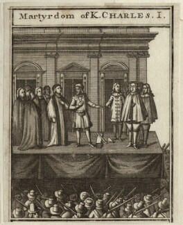 The Martyrdom of King Charles I, after Unknown artist - NPG D26373