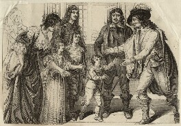 The family of King Charles I, after Samuel Woodforde - NPG D26374