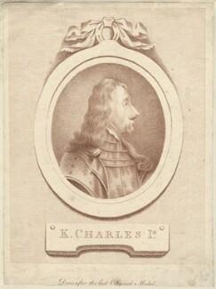 King Charles I, by D.P. Pariset, published by  T. Bradford - NPG D26377