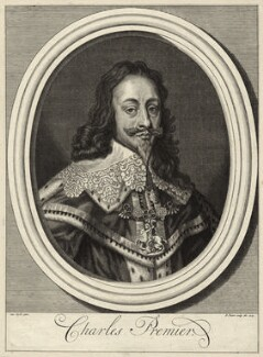 King Charles I, by Bernard Picart (Picard), after  Sir Anthony van Dyck - NPG D26381