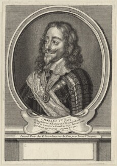 King Charles I, by Étienne Jehandier Desrochers - NPG D26383