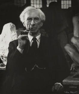 Bertrand Russell, by Ida Kar, 1953 - NPG  - © National Portrait Gallery, London