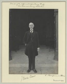 Sir James Dods Shaw, by Benjamin Stone - NPG x44961