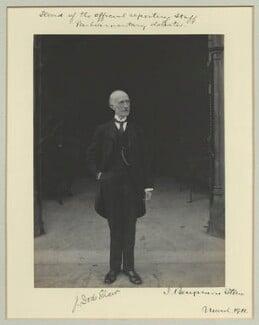 Sir James Dods Shaw, by Benjamin Stone - NPG x44962