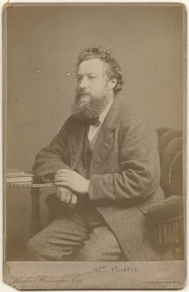 William Morris, by London Stereoscopic & Photographic Company - NPG x3750