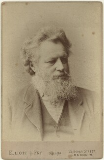 William Morris, by Elliott & Fry - NPG x3735