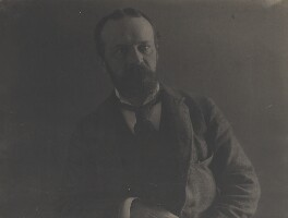 William James, by Eveleen Myers (née Tennant), 1890s - NPG Ax68776 - © National Portrait Gallery, London