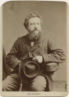 William Morris, by Elliott & Fry - NPG x3751