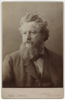 William Morris, by Abel Lewis - NPG x3753