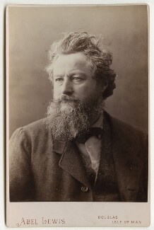 William Morris, by Abel Lewis - NPG x3755