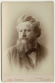 William Morris, by Abel Lewis - NPG x3754