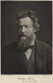 William Morris, by Walker & Boutall, after  Abel Lewis - NPG x3756
