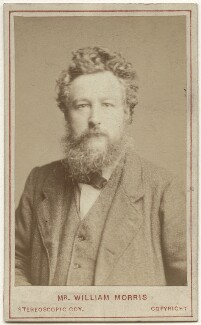 William Morris, by London Stereoscopic & Photographic Company - NPG x3764