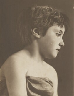 Peggy Lewis, by Eveleen Myers (née Tennant) - NPG Ax36316