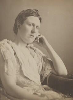 Kathleen Mary Lyttelton (née Clive), by Eveleen Myers (née Tennant) - NPG Ax68772