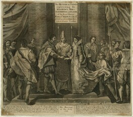 The Marriage of King Charles I and Henrietta Maria, after Unknown artist - NPG D26392