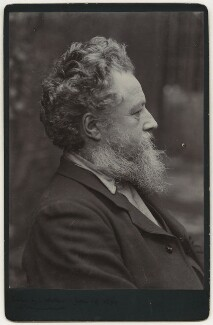 William Morris, by Sir Emery Walker - NPG x3729