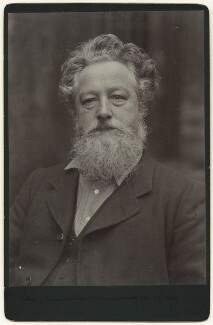 William Morris, by Sir Emery Walker - NPG x3732