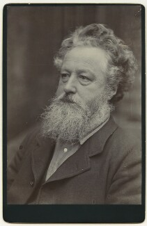 William Morris, by Sir Emery Walker - NPG x3744