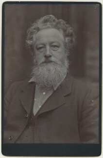 William Morris, by Sir Emery Walker - NPG x3745