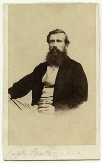 John Hanning Speke, by Sir Aubrey John Dean Paul, 3rd Bt - NPG x14794