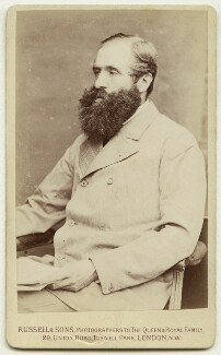 John Poyntz Spencer, 5th Earl Spencer, by James Russell & Sons, mid 1880s - NPG x26528 - © National Portrait Gallery, London