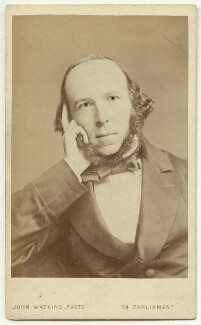Herbert Spencer, by John Watkins - NPG x17937