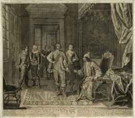 King Charles I seized at Holmby House by George Joyce, after Peter Angelis - NPG D26396