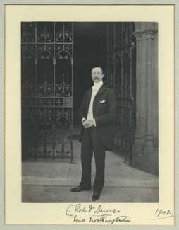 Charles Robert Spencer, 6th Earl Spencer, by Sir (John) Benjamin Stone, 1902 - NPG x35094 - © National Portrait Gallery, London
