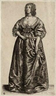 Henrietta Maria, by Wenceslaus Hollar - NPG D26403