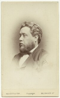 Charles Haddon Spurgeon, by Elliott & Fry - NPG x26538