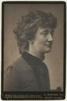 Alice Stopford Green (née Alice Sophia Amelia Stopford), by Henry Herschel Hay Cameron (later The Cameron Studio) - NPG x74642