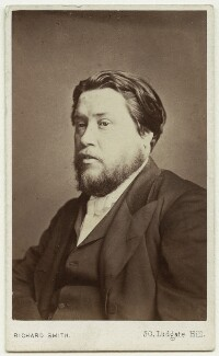 Charles Haddon Spurgeon, by Richard Smith - NPG x46487