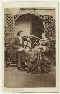 Charles Haddon Spurgeon; Susannah Spurgeon (née Thompson), by Unknown photographer - NPG x46627