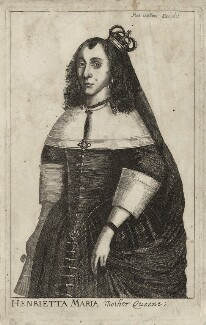 Henrietta Maria, published by Robert Walton - NPG D26406