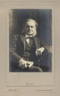 Thomas Henry Huxley, by Elliott & Fry - NPG x129630