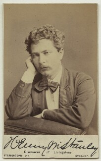 Sir Henry Morton Stanley, by London Stereoscopic & Photographic Company - NPG x76513
