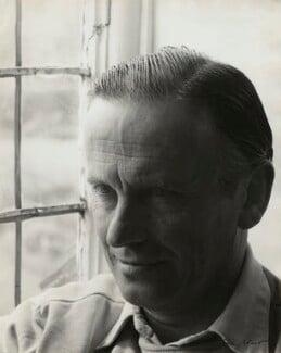 Graham Sutherland, by Ida Kar, 1954 - NPG x131186 - © National Portrait Gallery, London