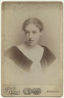 Ethel Isabel Grant (née McNeil), by Philip Adolphe Klier - NPG x26169