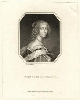 Mary, Princess Royal and Princess of Orange, by Edward Scriven, after  Sir Anthony van Dyck - NPG D26437
