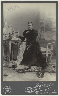 Katherine Jane (née Batten), Lady Strachey, by F. Benvenuti (Anglo Italian Photographic Studio) - NPG x129632
