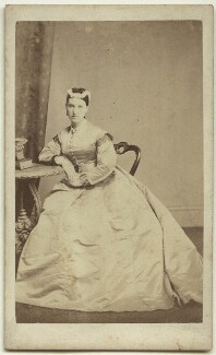 Adeline Bartle (née Rowe), by John Thorp - NPG x26171