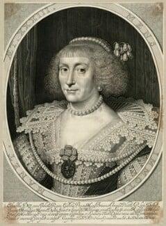Princess Elizabeth, Queen of Bohemia and Electress Palatine, by Willem Jacobsz Delff, after  Michiel Jansz. van Miereveldt, early 17th century - NPG D26450 - © National Portrait Gallery, London