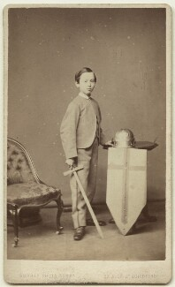 Sir Arthur Strachey, by Surrey Photo Company - NPG x38585