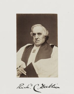 Richard Chenevix Trench, by Samuel Alexander Walker - NPG Ax29235