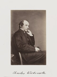 Charles Wordsworth, by Samuel Alexander Walker - NPG Ax29236