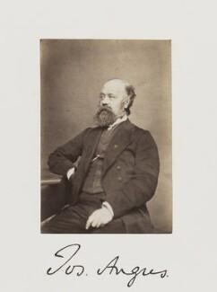 Joseph Angus, by Samuel Alexander Walker, published 1874 - NPG Ax29237 - © National Portrait Gallery, London