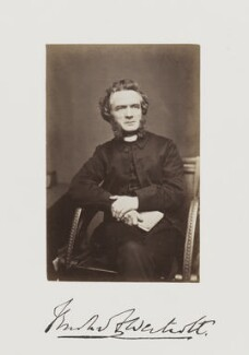 Brooke Foss Westcott, by Samuel Alexander Walker - NPG Ax29253
