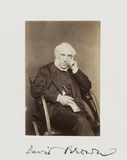 David Brown, by Samuel Alexander Walker - NPG Ax29238